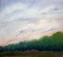 Lavender Skys by Jose  DeLaRosa