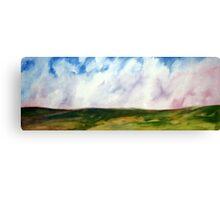Open Plains Canvas Print