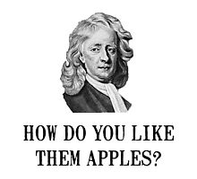 Sir Isaac Newton Apple by TheBestStore