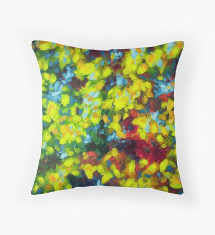 Energy Life Of A Tree Throw Pillow