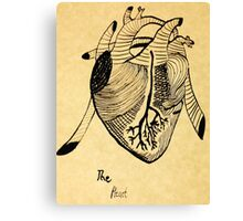 The Heart- unfiltered  Canvas Print
