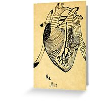 The Heart- unfiltered  Greeting Card