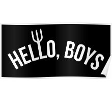 Hello, Boys created by Mark Sheppard Poster
