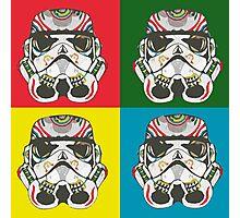 Storm trooper pop art Photographic Print