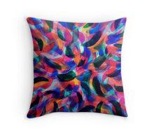 Colliding Color Creates 2 Throw Pillow