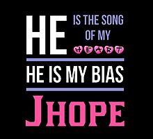 HE IS MY BIAS BLACK - Jhope by Kpop Seoul Shop