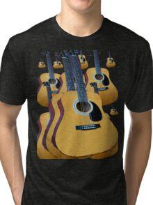 Guitars Rock!! Tri-blend T-Shirt