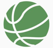 Basketball Green by SportsSwagg