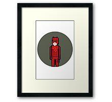 8Bit Daredevil Framed Print