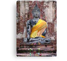 Ancient Buddha Canvas Print