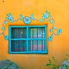 Taos Window by Virginia Maguire