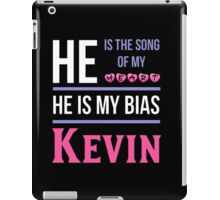 HE IS MY BIAS BLACK - Kevin iPad Case/Skin