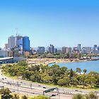 The City Of Perth WA -  Panorama - HDR by Colin  Williams Photography