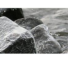 Rocky Ice Photographic Print