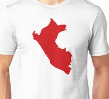 Peru map  Unisex T-Shirt