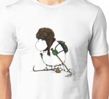 Mumin gone skiing Unisex T-Shirt