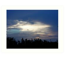 Sky over the Glade Art Print
