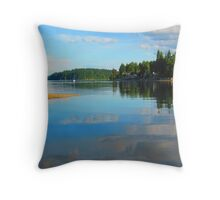 He Leads Me, He Restores Me Throw Pillow