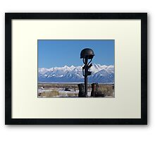 Tribute... Framed Print