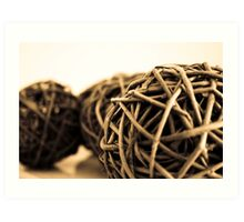 Tightly Wound Art Print