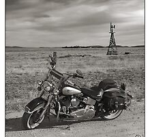 Old West, Iron Horse by Don Bailey