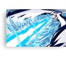 Lugia | Aeroblast Canvas Print