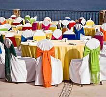 Rainbow Luncheon On the Sea Of Cortez by phil decocco