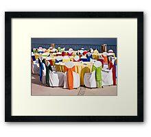 Rainbow Luncheon On the Sea Of Cortez Framed Print