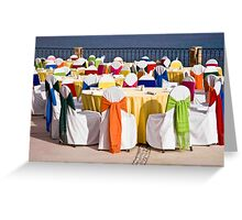 Rainbow Luncheon On the Sea Of Cortez Greeting Card