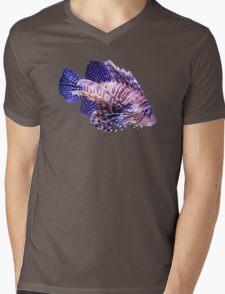 Lion Fish Mens V-Neck T-Shirt