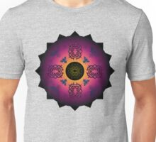 pointy symmetry and bugs - papercut patterns Unisex T-Shirt