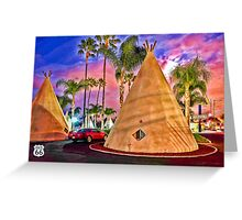Route 66 Road Greeting Card