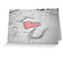 I <3 U :: Colorized Greeting Card
