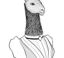 Lady Llama by parsnips