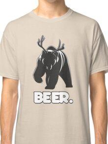 Beer! The Alcoholic Bear Deer Classic T-Shirt