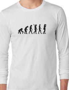 Evolution Photographer Long Sleeve T-Shirt