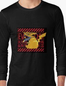 Pikagenesis Evangelion Long Sleeve T-Shirt