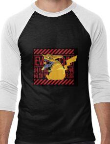 Pikagenesis Evangelion Men's Baseball ¾ T-Shirt