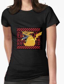 Pikagenesis Evangelion Womens Fitted T-Shirt