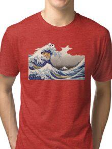Cookie wave monster Tri-blend T-Shirt