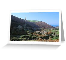 Cot Valley, Cornwall Greeting Card