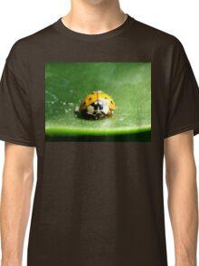 Ladybug on a leaf Classic T-Shirt