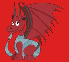 Red dragon cartoon Kids Clothes