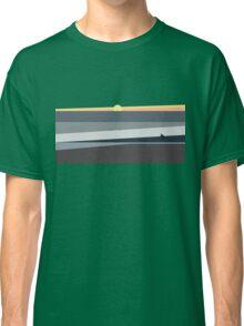 Ocean Sunset in Makaha Hawaii Classic T-Shirt