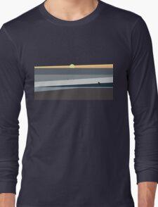 Ocean Sunset in Makaha Hawaii Long Sleeve T-Shirt
