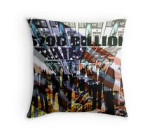 Billion Dollar Bailout Throw Pillow