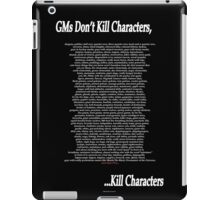 Gm's Don't Kill... iPad Case/Skin