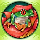 Totally Wild Frog Symbol by RedSparrow
