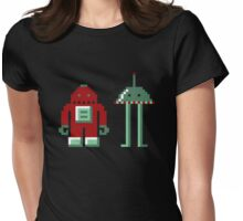 Robo & Bip Womens Fitted T-Shirt
