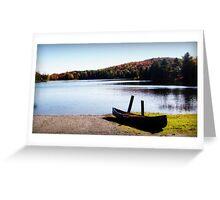 Serenity Lake Greeting Card